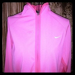 Nike zip up sweatshirt